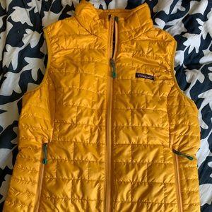 Patagonia nano vest small women's mustard yellow